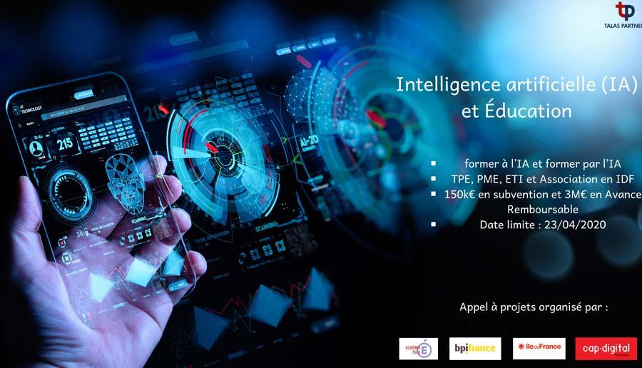 Innov'up Expérimentation Intelligence artificielle (IA) et Éducation 2020-2021 3