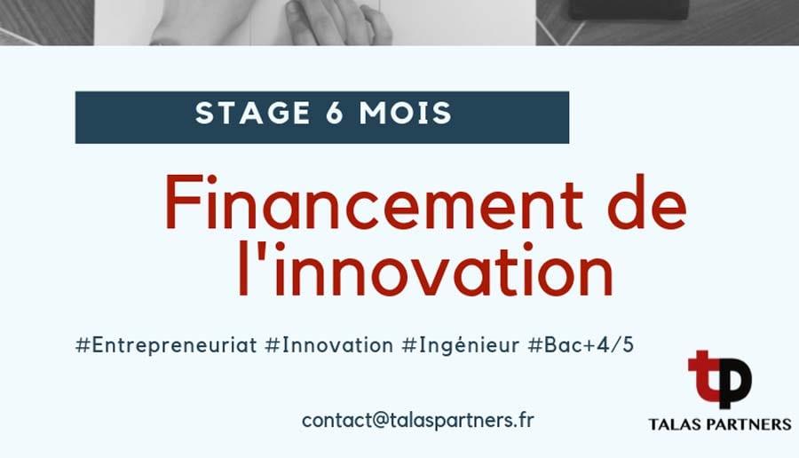 Offre stage conseil en financement de l'innovation 1