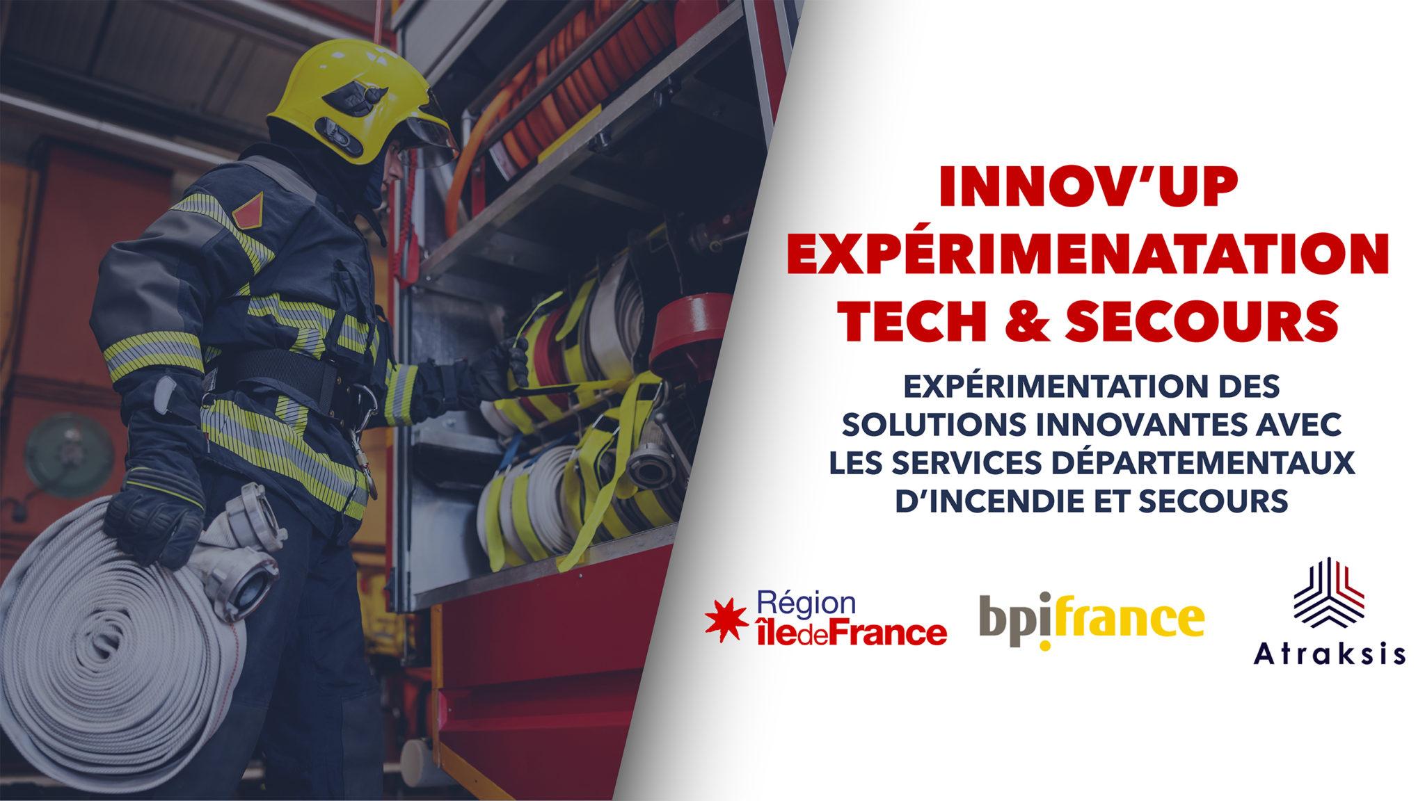 Innov'up Expérimentation Tech & Secours 1